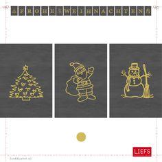 Forse Weihnachten ♡ Feest!Dagen ♡ Thema Ellen ♡ Maak ook je eigen slinger! www.LiefsLabel.nl