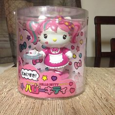 Sanrio Hello Kitty Japanimation Collectible Figurine (NIB)