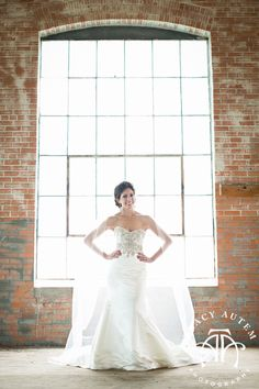 Haley Rusty Wedding Bridal Portrait Session McKinney Cotton Mill warehouse industrial columns rustic vintage light large big windows beautiful sweetheart Tracy Autem Photography by Tracy Autem 0008 Haley   Bridal Portraits at McKinney Cotton Mill