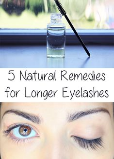 Many times in our social interactions the focus is on the eyes, which can be framed by beautiful, long eyelashes. 5 natural remedies for longer eyelashes!
