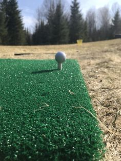 Best in the golf industry. Tartan Turf Champion Golf Mat offers the closest feel to a real fairway in the industry. Practice your swing at home. Golf Mats, Tartan, Champion, Plaid