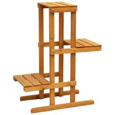 Leisure Cyress 3-tier Plant Stand