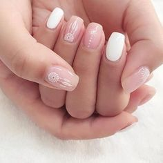 Pin for Later: White Nail Art Ideas You Should Wear Well Before Memorial Day