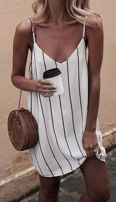 Buy Summer Dresses For Women at JustFashionNow. Online Shopping Women V neck Spa., Summer Dresses For Women at JustFashionNow. Online Shopping Women V neck Spaghetti Summer Dress Stripe Dress, The Best Daily Summer Dresses. Summer Outfits 2017, Summer Dresses For Women, Spring Outfits, Dress Summer, 2017 Summer, Simple Summer Dresses, Summer Dresses Tumblr, Summer Fashions, Outfit Summer