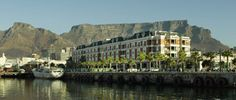 Cape Grace - great waterfront location, with amazing views of Table Mtn and the best service.