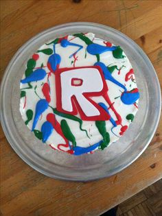 Roblox Mad Paintball cake