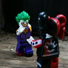 """""""The Joker learning to skate still has a smile on his face"""" Why So Serious, Lego Photography, Various Artists, Joker, Skate, Fictional Characters, Learning, Studying, The Joker"""