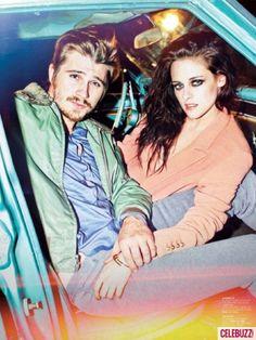 Kristen Stewart and Garrett Hedlund in 'Jalouse' Magazine
