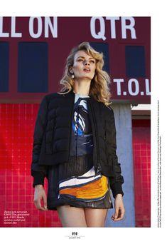 visual optimism; fashion editorials, shows, campaigns & more!: klaar voor de start: stef van der laan by wendelien daan for elle netherlands january 2015