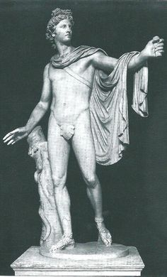 Learn about Apollo, a very popular Greek and Roman god, his passions, gifts to mankind, and association with the sun. Ancient Greek Sculpture, Ancient Greek Art, Ancient Greece, Greek Gods And Goddesses, Greek And Roman Mythology, Apollo Mythology, Apollo Tattoo, Apollo Aesthetic, Apollo Belvedere