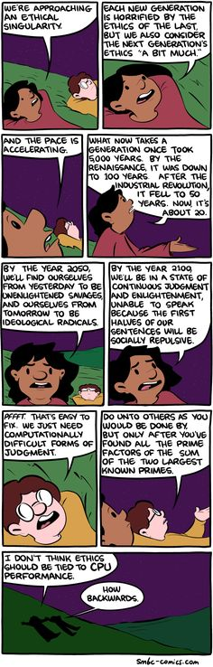 Saturday Morning Breakfast Cereal - The Ethical Singularity