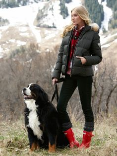 hunter boot ltd. -  Gorsuch  (Always accessorize with a gorgeous dog.)