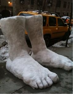 New York City Gets Two Feet Of Snow!