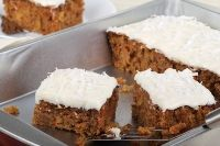Sourdough & Sprouted Grain Carrot Cake with Cream Cheese Frosting