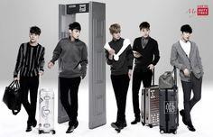 Lotte Duty Free : EXO-M