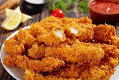 Frozen Fried Chicken, Fried Chicken Tenders, Crispy Fried Chicken, Chicken Strip Recipes, Chicken Tender Recipes, Chicken Strips, Homemade Chicken Tenders Recipe, Natur House, Tyson Chicken