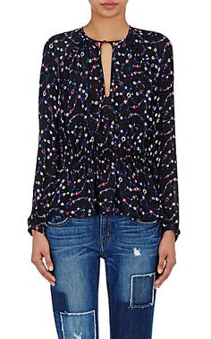 We Adore: The Georgette Peplum Blouse from Derek Lam 10 Crosby at Barneys New York