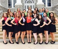 We made it on sorority sugar! Sorority Party, Sorority Rush, Sorority Sugar, Sorority Life, Delta Gamma, Theta, Sorority Dresses, Scarf Dress, Group Pictures