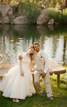 Bend Oregon Wedding Photography at Rock Springs Guest Ranch