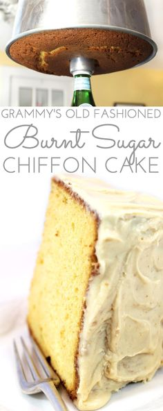 Another poster said: This delicate flavored Old-Fashioned Burnt Sugar Chiffon Cake Recipe is an original family recipe, legend in our house growing up. Step by step directions. Cupcakes, Cupcake Cakes, Bundt Cakes, Layer Cakes, Cupcake Recipes, Dessert Recipes, Kabasa Recipes, Quorn Recipes, Dinner Recipes