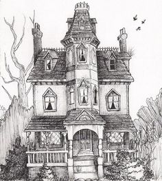 Spiderwick house 2 by NadaBenghazi