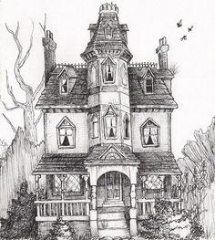 Spiderwick house 2 by NadaBenghazi