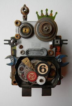 https://www.etsy.com/listing/167147192/recycled-art-assemblage-mini-bot