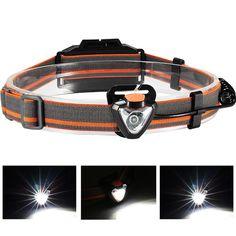 XANES 800LM Headlamp Flashlight 3 * AAA Energy Saving Light for Outdooors Lighting Fishing Cycling