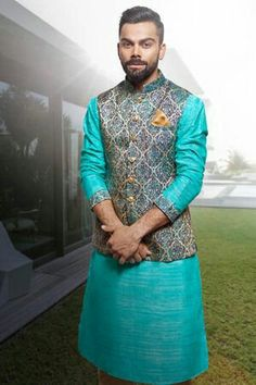Here are the top 9 kurtas with blazer for women and men in India Be confidant and choose the best kurta with blazer. Mens Indian Wear, Mens Ethnic Wear, Indian Groom Wear, Indian Men Fashion, Men's Fashion, Fashion Suits, India Fashion Men, Wedding Kurta For Men, Wedding Dresses Men Indian
