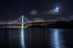 On a foggy night in #SanFrancisco I was made aware that #Mars will be in view so I went out to find the gap in the fog. I found this spot on Treasure Island and saw the #moon shining through. If you look to the right of the moon the reddish white dot is Mars. Hope to get humans there during my lifetime. #MyCanonStory Photo Credit: @nakulbphotog Camera: #Canon EOS 5D Mark III Lens: Canon EF 17-40mm f/4L USM Aperture: f/4 ISO: 100 Shutter Speed: 30 sec Focal Length: 38mm via Canon on Instagram…