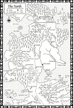 Game of Thrones Iron Islands map  got  Pinterest  Gaming