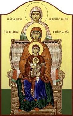 Orthodox Catholic, Orthodox Christianity, Bible Timeline, Greek Icons, Pictures Of Christ, Best Icons, Byzantine Icons, Orthodox Icons, Blessed Mother