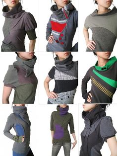 #Joodito #recycled #sweaters  Not really feeling these. Certainly wouldn't want…