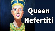 How to Paint Nefertiti Bust in Acrylic