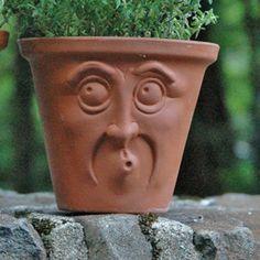 Face Pots - Surprised Face Pot