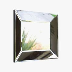 Bevel rectangular mirror, from $199, potterybarn.com