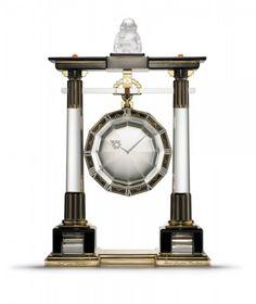 Cartier 'Portique' mystery clock circa 1923