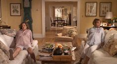 Kimberly Williams and Diane Keaton in Father of the Bride 2