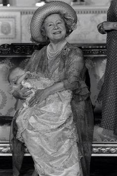 Prince William christening 1982.by:Kent Gavin…….QUEEN  MOTHER…………...