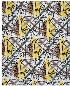1956 (made)  Artist/Maker:  Picasso, Pablo, born 1881 - died 1973 (designer)   Fuller Fabrics (manufacturer)    Materials and Techniques:  Screen printed cotton  Credit Line:  Given by Fuller Fabrics
