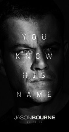 Directed by Paul Greengrass.  With Alicia Vikander, Julia Stiles, Matt Damon, Tommy Lee Jones. Jason Bourne, now remembering who he truly is, tries to uncover hidden truths about his past.