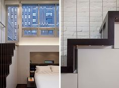 "Manhattan Micro-Loft was designed by Specht Harpman and it is located in Manhattan, New York City, USA. The interior is clean and modern and makes use of imaginative storage options to create more space. Manhattan Micro-Loft by Specht Harpman:   ""This tiny penthouse duplex apartment renovation in a brownstone building on the Upper West Side held a number …"
