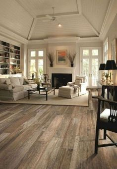 49 Majestic Rustic Apartment Living Room Decor Ideas - Page 41 of 49 French Living Rooms, French Country Living Room, French Country Bedrooms, Cozy Living Rooms, Modern Living, Small Living, Living Spaces, Interior Room Decoration, Home Interior