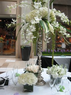 A wedding show at The Westchester, White Plains, N.Y. designed by Perennial Gardens.