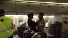 A soldier returning from an overseas deployment got a big surprise on the flight back to the states. The pilot of the charter flight was his father. Captain Mario Lopes knew the date his son would …