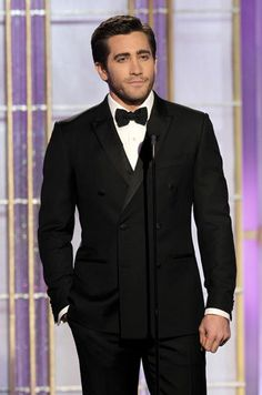 Jake Gyllenhaal @ Golden Globes 2012