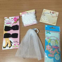 【結婚式DIY】100均素材でOK!グラスドレスの作り方 | marry[マリー]