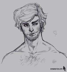 """""""ironmouse: Mal, you scruffy hunk you!""""  goodness! Well, Irene's done it now. Since she posted this piece of fanart on her tumblr, I've gotten an email and two tweets from people upset about Mal's chest hair."""