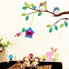 Best price on Colorful Wall Stickers For Kids Rooms Animal Decorative //    Price: $ 10.90  & Free Shipping Worldwide //    See details here: http://mrowlie.com/product/colorful-wall-stickers-for-kids-rooms-animal-decorative/ //    #owl #owlnecklaces #owljewelry #owlwallstickers #owlstickers #owltoys #toys #owlcostumes #owlphone #phonecase #womanclothing #mensclothing #earrings #owlwatches #mrowlie #owlporcelain