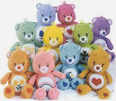 Amigurumi Care Bears - FREE Crochet Pattern / Tutorial